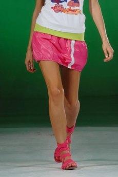 Розовая мини юбка CONVER