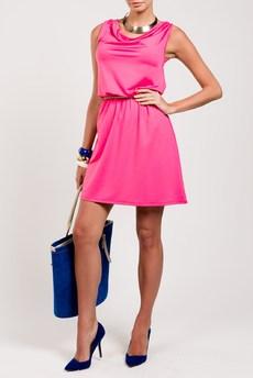 Яркое летнее платье с завязками на спине TOM FARR