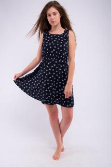 Черное платье на лето Malina